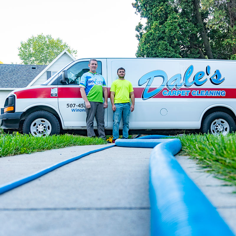 Dale's Carpet Cleaning Team Photo