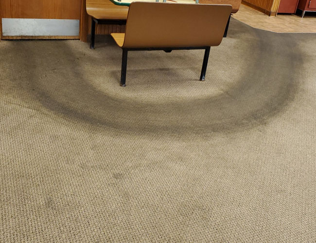 Carpet Cleaning - Before Image